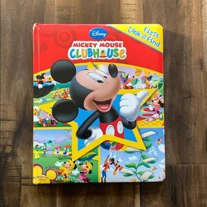 Mickey Mouse Clubhouse First Look and Find Book